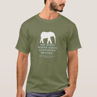 German Proverb T-Shirt