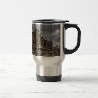 German saint in Bush hammer, Paris, France Stainless Steel Travel Mug