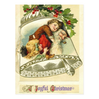 German Santa Christmas Postcards