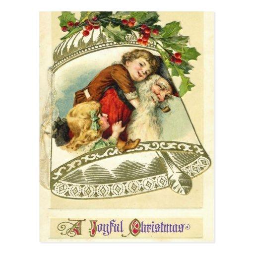 German Santa Christmas Postcards