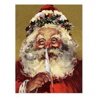 German Santa Vintage Postcards