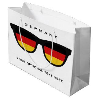 German Shades custom text & color gift bag