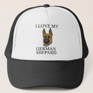 German Shepard Love Trucker Hat