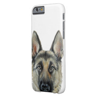 German Shepard, original painting and design Barely There iPhone 6 Case