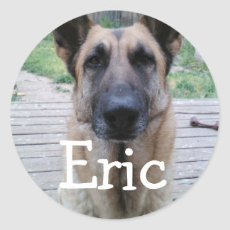 german shepard stickers for Eric