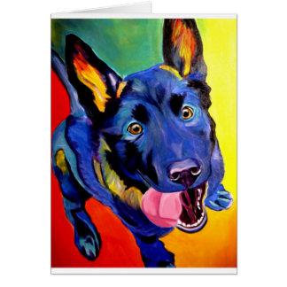 German Shepherd #1 Card