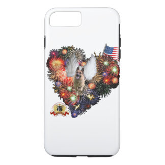 German Shepherd 4th of July Phone Case