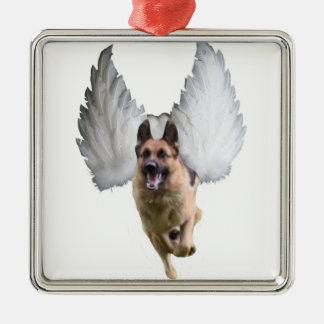 German Shepherd Angel Christmas Ornament