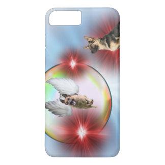 German Shepherd Angel Flying iPhone 8 Plus/7 Plus Case