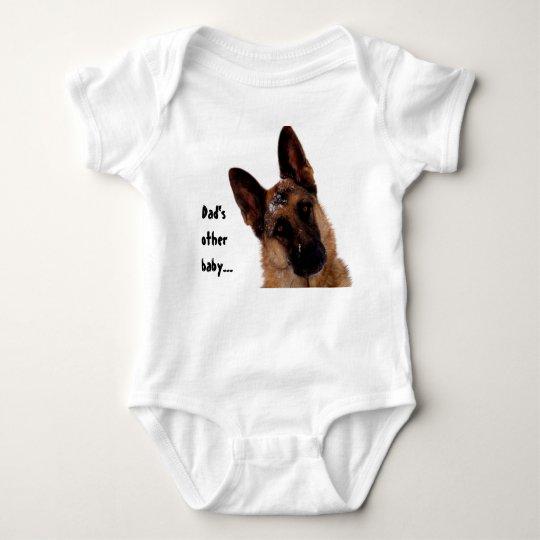 German Shepherd Baby Bodysuit