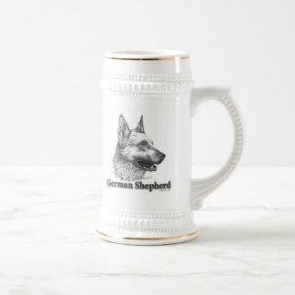 German Shepherd Beer Steins