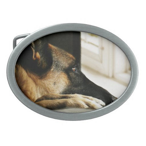 German Shepherd Belt Buckle