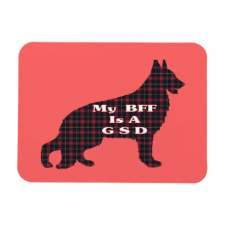 GERMAN SHEPHERD BFF MAGNET