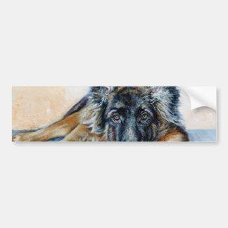 German Shepherd Bumper Sticker