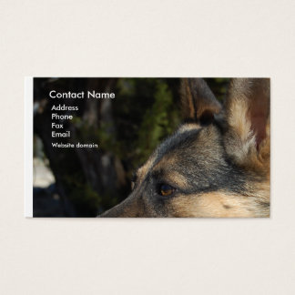 German Shepherd Business Card