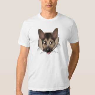 German Shepherd Busting Out Tshirts