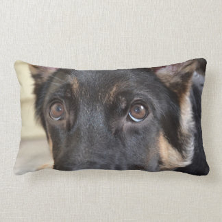 German Shepherd by Shirley Taylor Lumbar Cushion