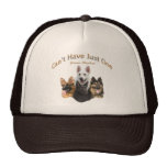 German Shepherd Can't Have Just One Apparel Cap