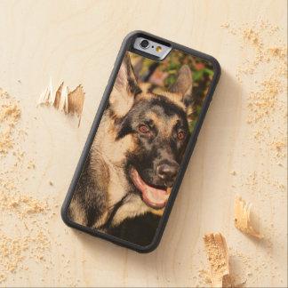 German Shepherd Carved® Maple iPhone 6 Bumper