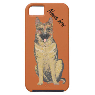 German Shepherd Case-Mate Vibe iPhone 5/5S name iPhone 5 Cases