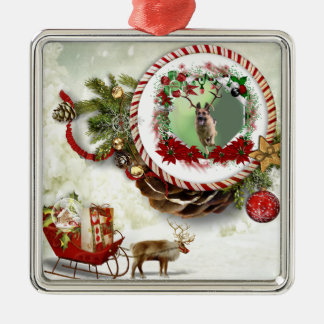 German Shepherd Christmas Christmas Ornament