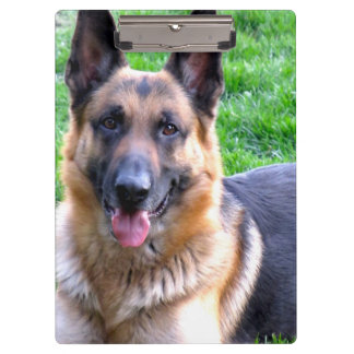 German Shepherd Clipboard