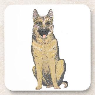 German Shepherd Coasters, customize