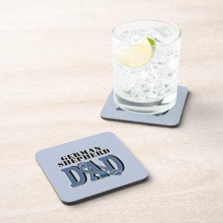 German Shepherd DAD Drink Coaster