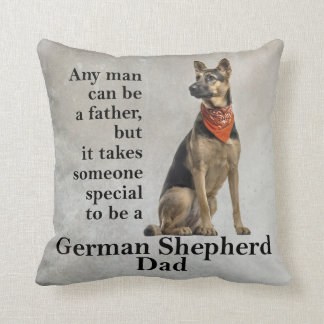 German Shepherd Dad Pillow