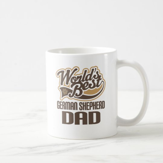 German Shepherd Dad (Worlds Best) Coffee Mug