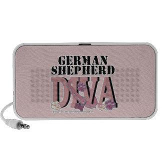 German Shepherd DIVA Laptop Speakers