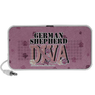 German Shepherd DIVA iPhone Speakers