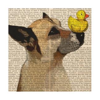 German Shepherd Dog and Duck Wood Wall Art