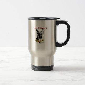 German Shepherd Dog Bah Humbug Travel Mug