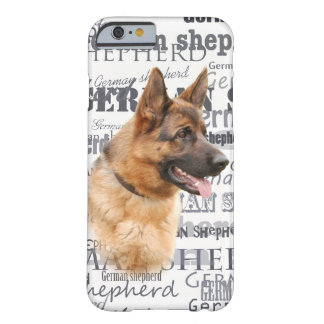 German Shepherd dog Barely There iPhone 6 Case