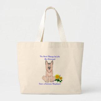 German Shepherd Dog Best Things In Life Tote Bag