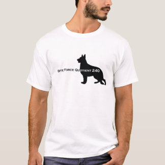 German Shepherd Dog - Bite Force Quotient 240 T-Shirt