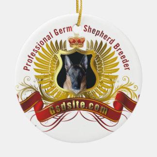 German Shepherd Dog Breeder Ornaments