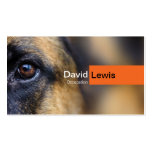German Shepherd Dog Double-Sided Standard Business Cards (Pack Of 100)
