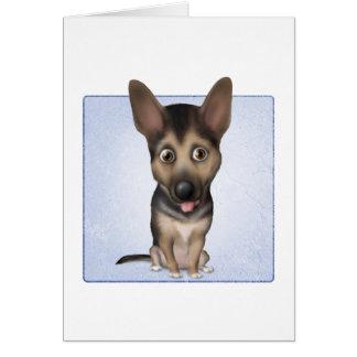 German Shepherd Dog Greeting Cards