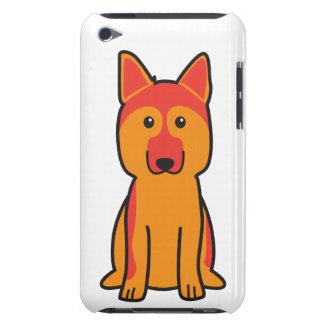 German Shepherd Dog Cartoon iPod Touch Cover
