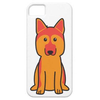 German Shepherd Dog Cartoon iPhone 5 Case