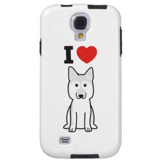 German Shepherd Dog Cartoon Galaxy S4 Case