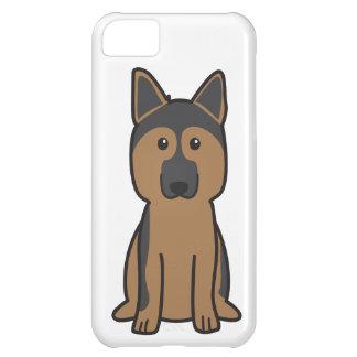 German Shepherd Dog Cartoon iPhone 5C Case
