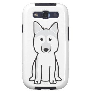 German Shepherd Dog Cartoon Galaxy SIII Case