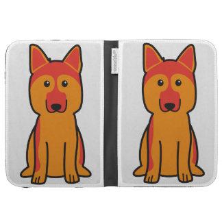German Shepherd Dog Cartoon Kindle Cover