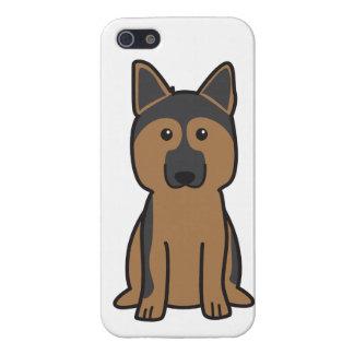 German Shepherd Dog Cartoon Case For iPhone 5
