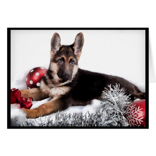 German Shepherd Dog Christmas Cards