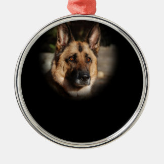 German Shepherd Dog Christmas Ornament