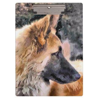 GERMAN SHEPHERD DOG CLIPBOARD